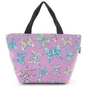 Eco-Chic -  Insulated Lunch Bag Butterfly Lilac