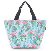 Eco-Chic - Insulated  Lunch Bag Flamingo Blue