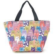 Eco-Chic - Insulated Lunch Bag Multiple Cats