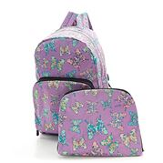 Eco-Chic - Foldable Backpack Butterfly Lilac