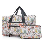 Eco-Chic - Holdall Owl On A Branch Grey