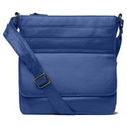 Condura - Pocketed Cross Body Bag Dark Blue