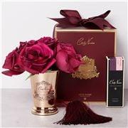 Cote Noire - Vase Goblet Seven Rose Carmine Red w/Red Box