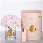 Cote Noire - Vase Twelve Roses French Pink w/Pink Box