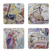 Ecology - May Gibbs Bush Tales Coaster Set 4pce