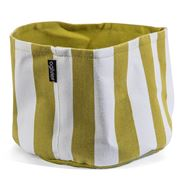 Ogilvies Designs - Green Stripe Cotton Bowl Small
