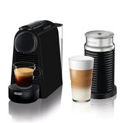 DeLonghi - Nespresso Essenza Mini Coffee Mach w/Frother Blk