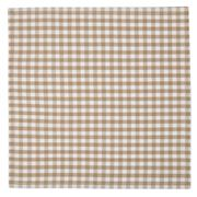 Rans - Gingham Napkin Taupe 45x45cm