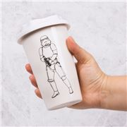 Thumbs Up - Stormtrooper Travel Mug White