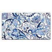 Cala Home - Anti-Fatigue Mat Blue Paisley 91x51cm