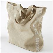 TRP Charvet - Shopping Bag Bon Appetit White