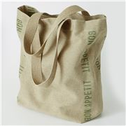 Charvet Editions - Shopping Bag Bon Appetit Khaki