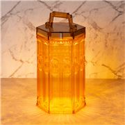 Baci Milano - Baroque & Rock LED Lamp Lantern Ochre