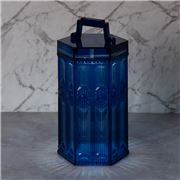 Baci Milano - Baroque & Rock LED Lamp Lantern Blue