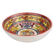 Baci Milano - Baroque Soup Plate Orange