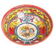 Baci Milano - Soup Plate Baroque Orange
