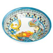 Baci Milano - Soup Plate Baroque Blue