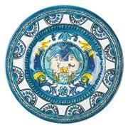 Baci Milano - Blue Baroque Dessert Plate