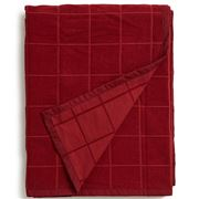 Lexington - Holiday Velvet Bedspread Red 260x240cm