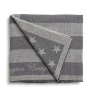 Lexington - Flag Throw Rug Gray 130x170cm