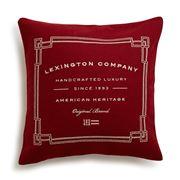 Lexington - Syrah Wool Sham Red 50x50cm