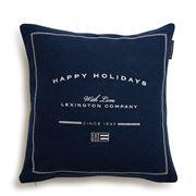 Lexington - Happy Holiday Wool Sham Blue 50x50cm