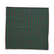 Lexington - Holiday Checked Napkin Green 50x50cm