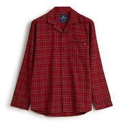 Lexington - Unisex Checked Flannel Pyjama Red Medium