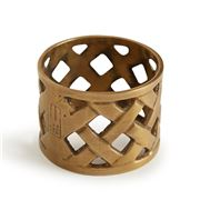 Lexington - Brass Napkin Ring Gold