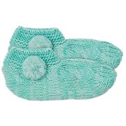 A.Trends - Slouchy Slippers Marle Mint