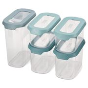 Joseph Joseph - CupboardStore Food Storage Set Opal 5pce