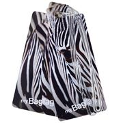 MyBagTag - Zebra Luggage Tag Set 2pce
