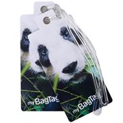 MyBagTag - Panda Luggage Tag Set 2pce