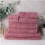 Sheridan - Trenton Towel Stack Rosewood 7pce