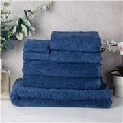 Sheridan - Trenton Towel Stack Sapphire 7pce