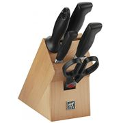 Henckels - Four Star Knife Block Set 6pce