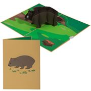 Colorpop - Wombat Greeting Card