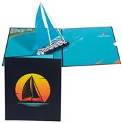 Colorpop - Sailing Boat Greeting Card