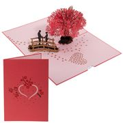 Colorpop - Cherry Blossom Love Scene Card