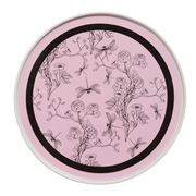 In The Roundhouse - Pink And Black Chinoiserie
