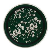 In The Roundhouse - Green & Black Chinoiserie