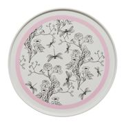 In The Roundhouse - Pink And White Chinoiserie