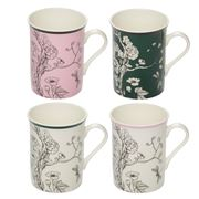 In The Roundhouse - Chinoiserie Collection Mug Set 4pce