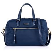 Lipault - Plume Essentials Zipped Pkt Bowling Bag Navy