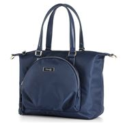 Lipault - Plume Essentials Round Pkt Tote Bag S Navy