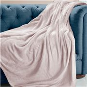 Brogo - Luxe Supersoft Micro Mink Blanket Blush