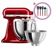 KitchenAid - KSM177 Candy Apple Stand Mixer + Utensil Set