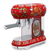 Smeg - Dolce & Gabbana Sicily Is My Love Coffee Machine