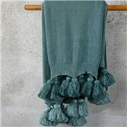 MM Linen - Birch Throw Seafoam 130x170cm