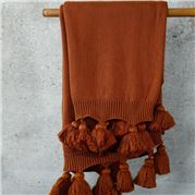 MM Linen - Birch Throw Terracotta 130x170cm